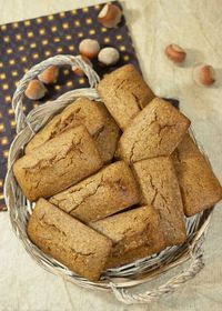 Financier tout noisette