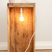 DIY Lampe mit Textilkabel - Tulpentag. Foodblog.