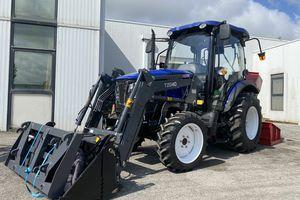Un tracteur 50cv pour un zoo