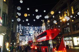 Passer Noël 2017 à Londres