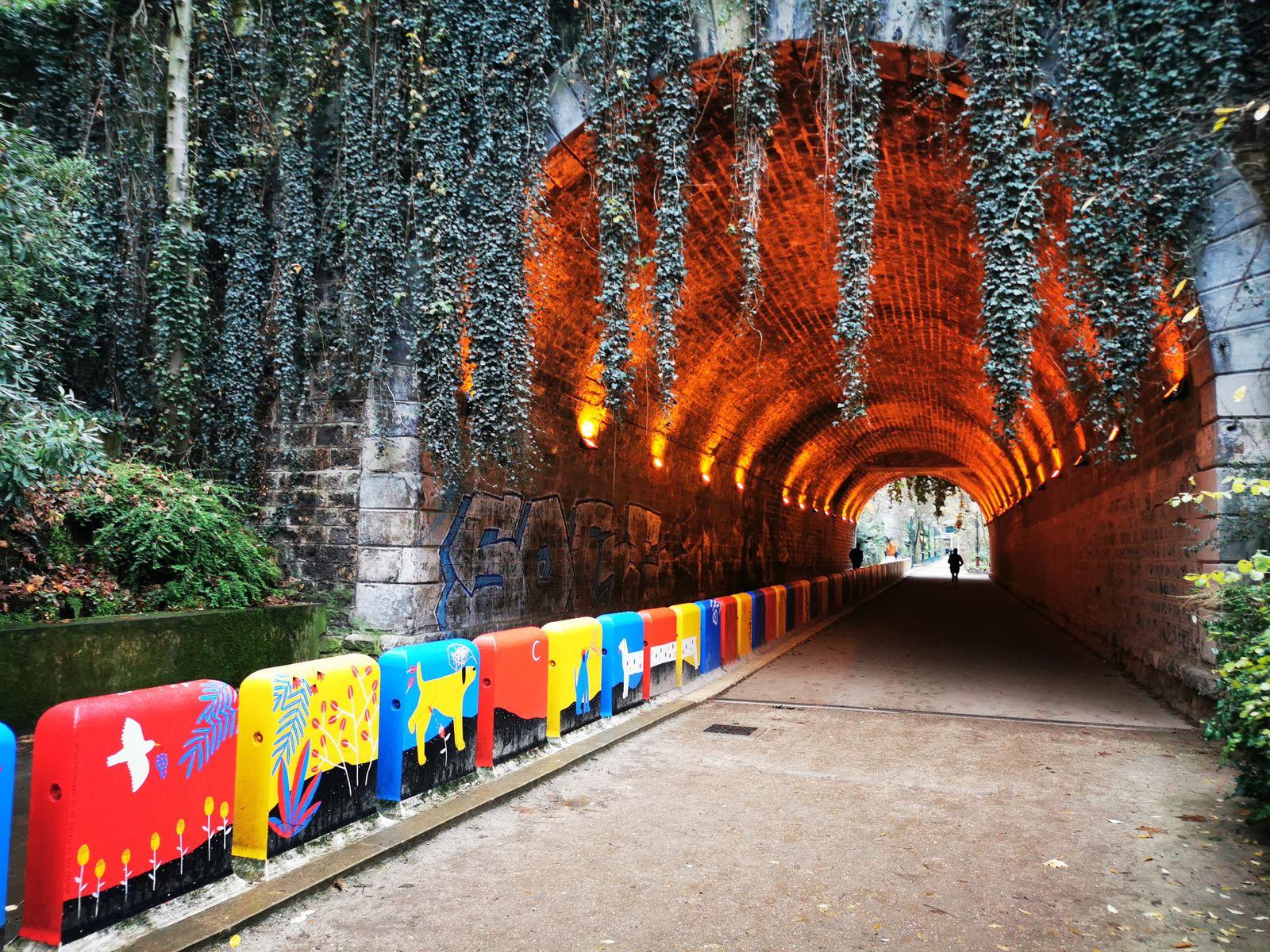 Street art à la coulée verte René-Dumont (Paris 12)