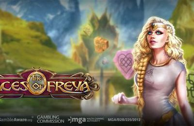 le développeur leader Play'n Go lance la machine à sous The Faces of Freya