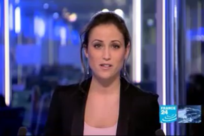2012 01 05 @17H00 - JESSICA LE MASURIER, FRANCE 24, THE NEWS