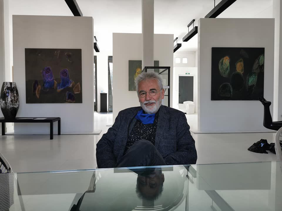 Perpignan:Roger Castang, itinéraire d'un galeriste gaté...interview par Mariya Marenych et Nicolas Caudeville