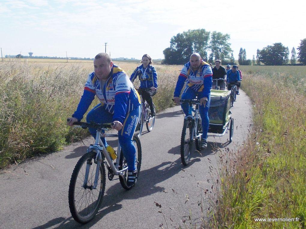 Journée détente du stade vernolien cyclisme le 30 juin 2013