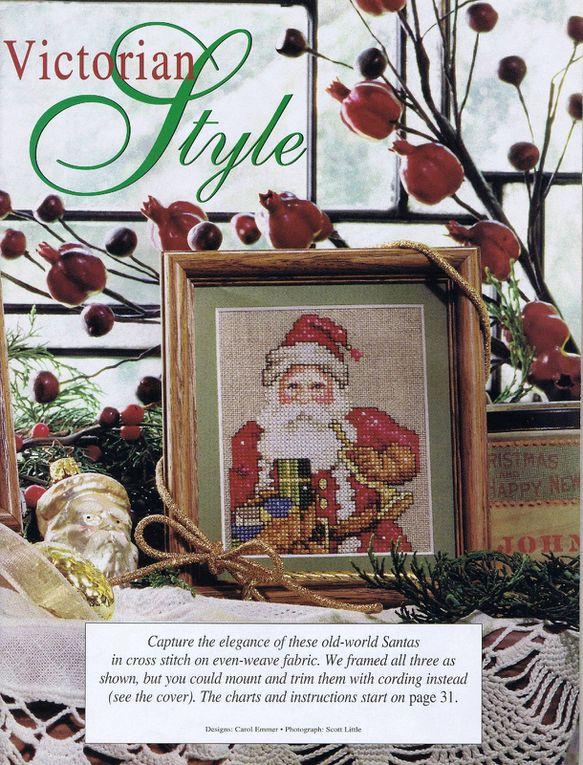 Grilles de point de croix , un Noël Victorien !