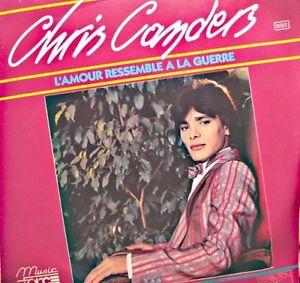 """Chris canders, un chanteur français des années 1980 dans le registre de Mike Brant et son hit """"l'amour ressemble à la guerre"""""""