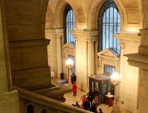 New York Public Library et Bryant Park, avis et photos