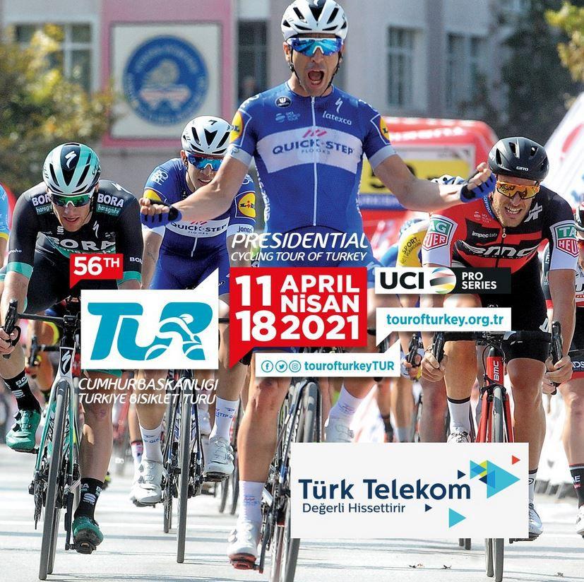 Tour de Turquie : Sur quelle chaîne suivre la 8ème étape dimanche ?