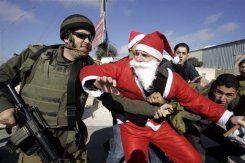 Bethléem : répression israélienne d'une manifestation pacifique contre le Mur de la Honte