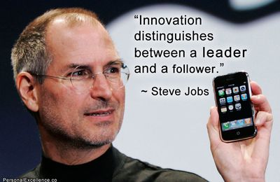 Be Leader INNOVATION ! Dare to be better than Steve JOBS ? OK ! being french ? OK ! with a .fr ? OK !
