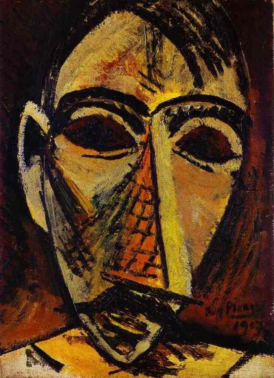La période noire de Pablo Picasso a été suivie par Le cubisme analytique qui s'est également développé à partir de « Les Mademoiselle Mignonne ».