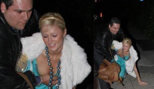 Quand Paris Hilton rentre de soirée ivre morte ...