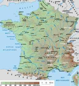GEOGRAPHIE - FRANCE