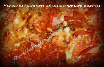 Sauce tomate express.
