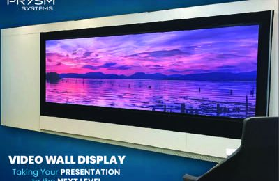 Video Wall Display: Taking your Presentation to the Next Level