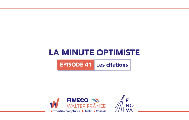 La Minute Optimiste - Episode 41 !