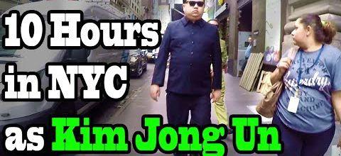 Kim Jong-Un en goguette à New York