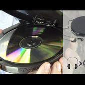 LECTEUR CD PORTATIF BLUETOOTH - le discman d'aujourd'hui- [PEARLTV.FR]