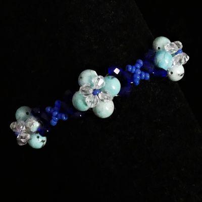 """bracelet en perles """"élégance"""""""
