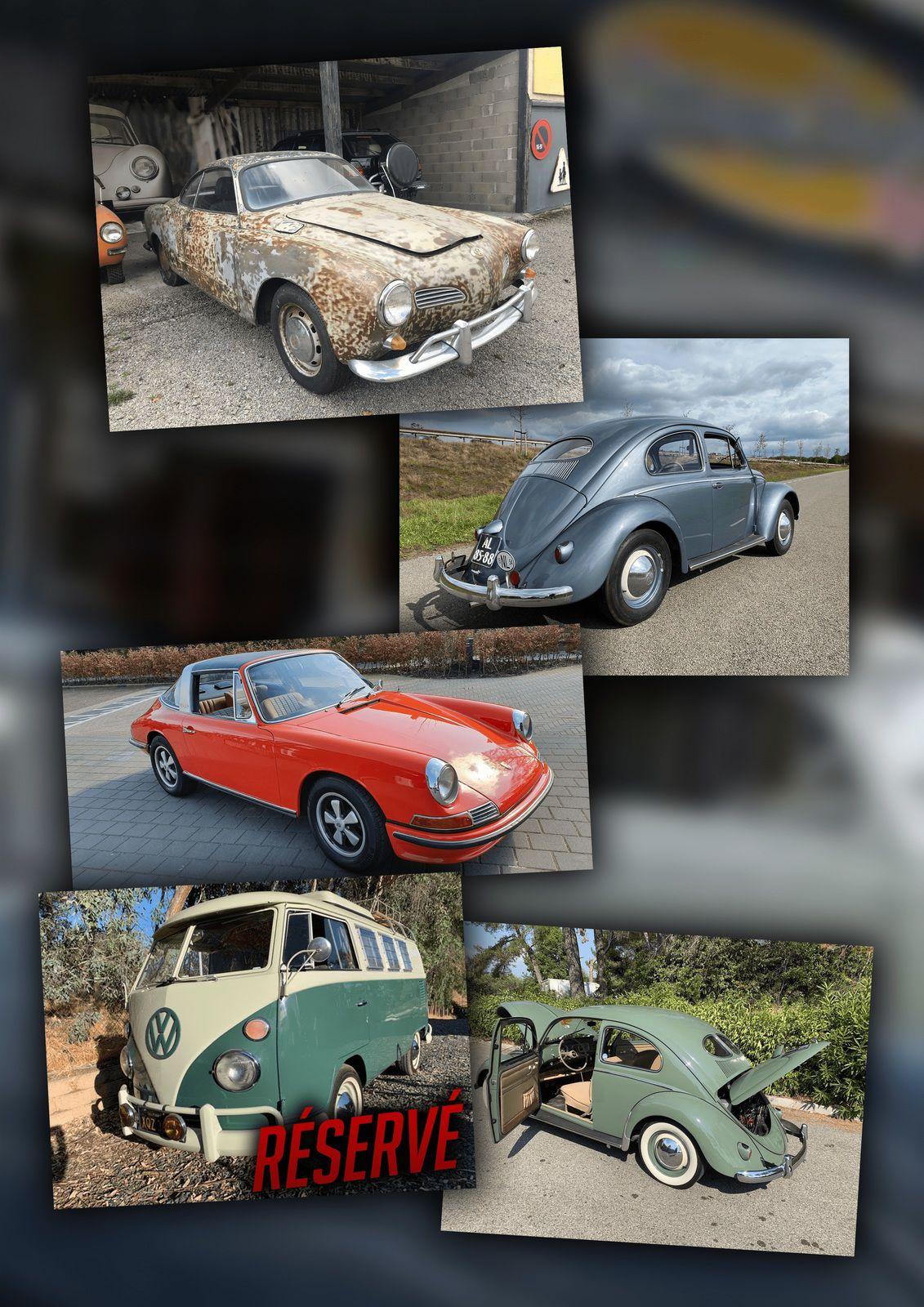 VW et Porsche 4 cylindres à vendre