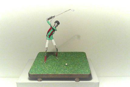 Muselet golfeur