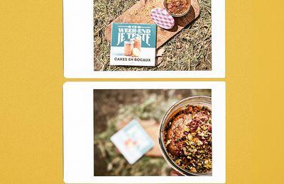 Lundi pâtisserie : cakes en bocaux / muffins aux framboises