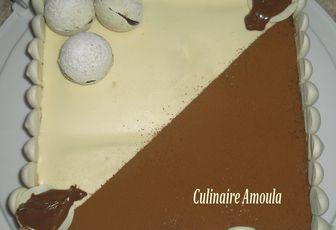 Ma création: Gâteau à la saveur de Tiramisu