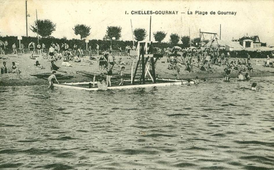 La plage de Gournay