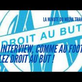 En interview, comme au foot : allez droit au but. Conseil media training 6