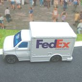 FORD BOX TRUCK FEDEX FEDERAL EXPRESS - car-collector.net