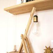 Tuto vidéo de la lampe de bureau en bois - Tête d'ange