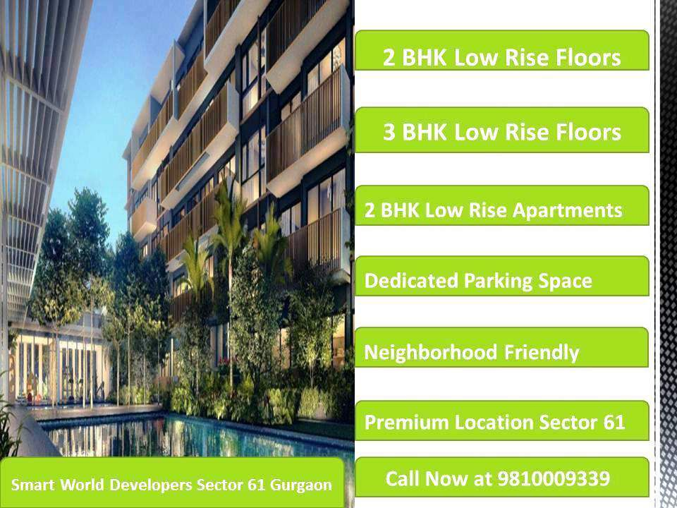 Smart World Developers Low Rise Apartments