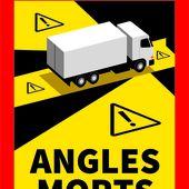 Les véhicules lourds doivent désormais être équipés d'une signalisation matérialisant leurs angles morts