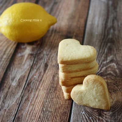 Shortbreads au citron