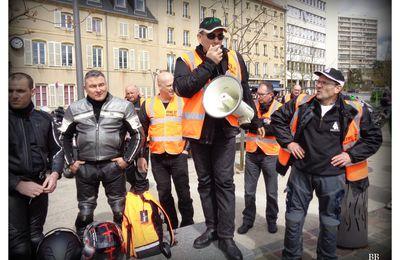 Metz FFMC Mobilisation des motards contre le contrôle technique