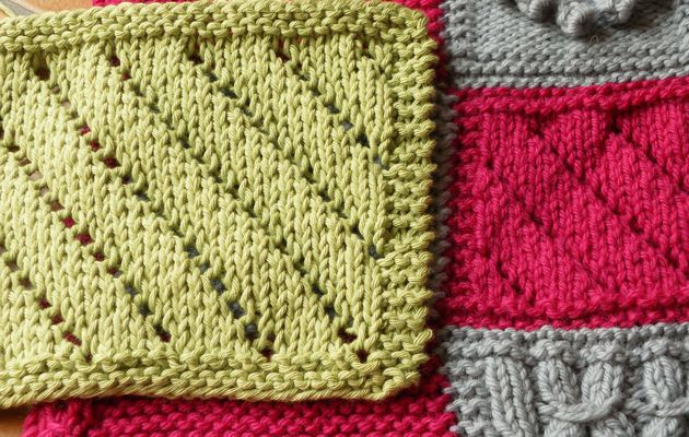 Boucle d'Or Afghan KAL : square 12