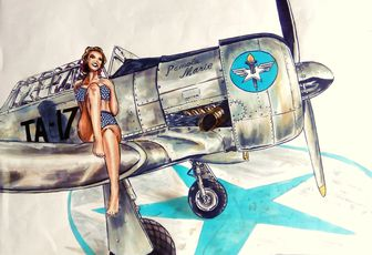 pin-up ww2