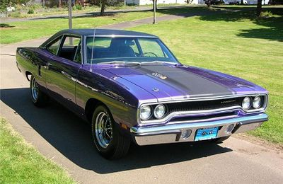 1970 Plymouth Road Runner 440 six pack