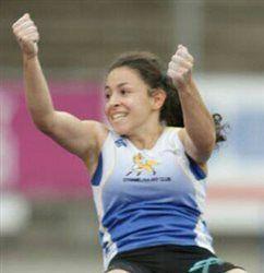 Thiziri Daci championne de France de saut à la perche avec le Dynamic Aulnay Club !