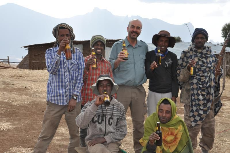 Ethiopie, monts Simien, camp de Sona, 3400 m