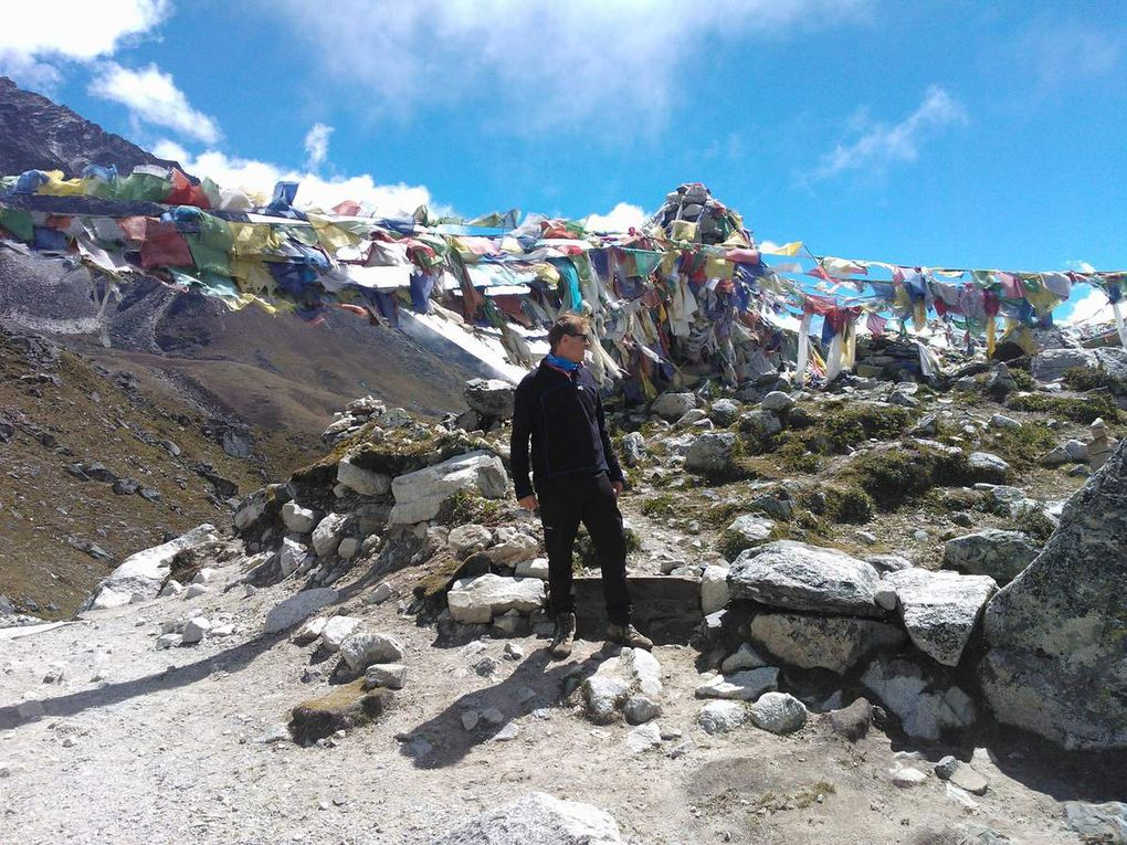 CAMP DE BASE DE L'EVEREST 5650m