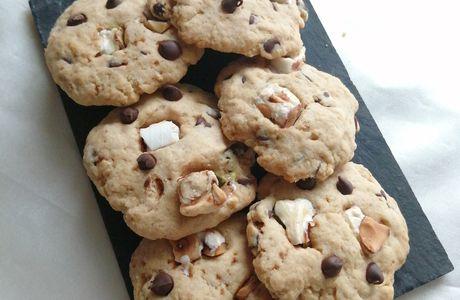 Recette cookies aux pépites de chocolat et nougat Royal Maison du Nougat