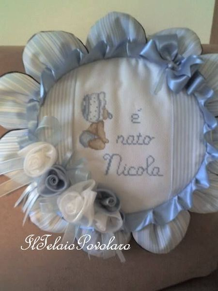 .. Per Nicola è un fiore ad annunciarne la nascita