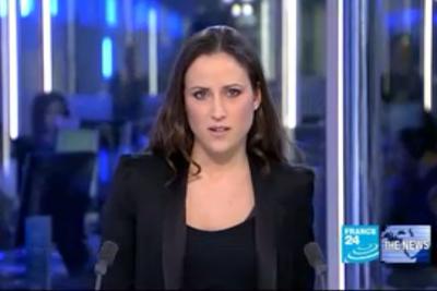 2012 01 18 @17H00 - JESSICA LE MASURIER, FRANCE 24, THE NEWS