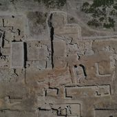 3500-year-old ceramic furnace found at Chalcolithic settlement mound in Western Turkey