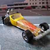 ODD ROD DRAGSTER TOP FUEL HOT WHEELS MADE IN FRANCE 1/64 - car-collector.net