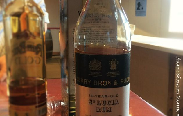 St Lucia 14Y Berry Bros and Rudd 'Bottled Exclusively For The Nectar'