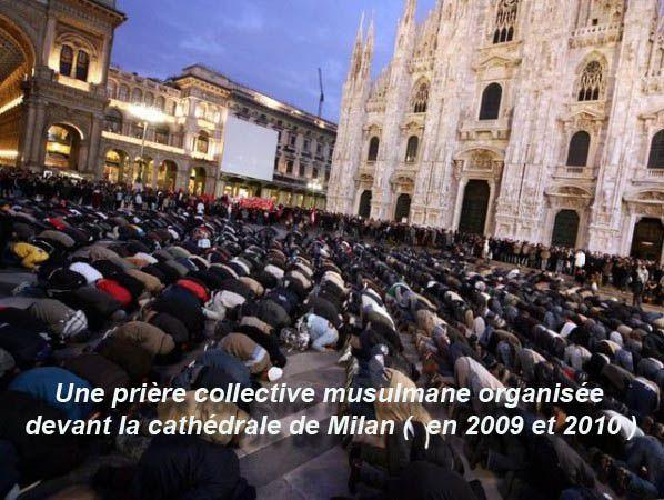 Islam et la futur conquête de Rome