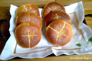 pain au sésame et huile d'olive